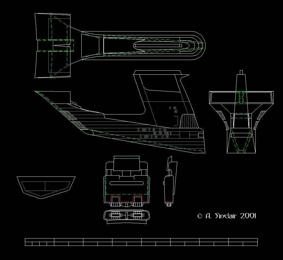 Enterprise-D – CultTVman's Fantastic Modeling on