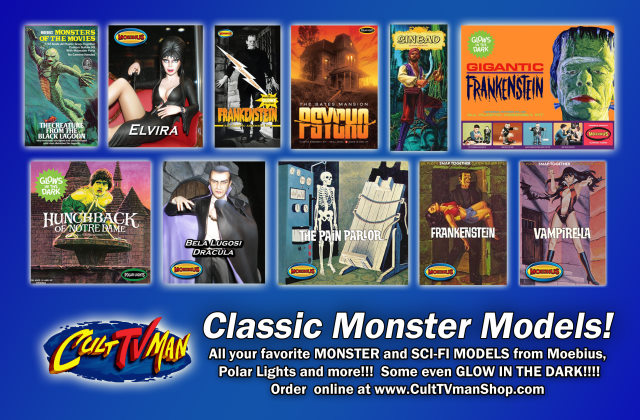 Did You See Us In Famous Monsters 254 Culttvmans Fantastic Modeling