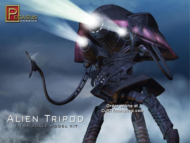 Alien Tripod – CultTVman's Fantastic Modeling