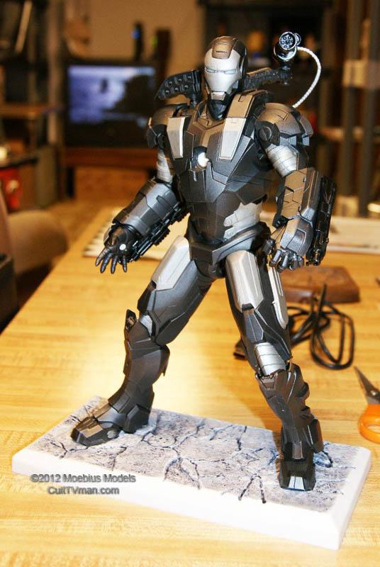 Iron Man War Machine first look from Moebius – CultTVman's ...