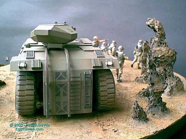 Ismael Davila S Aliens Apc Diorama Culttvman S Fantastic