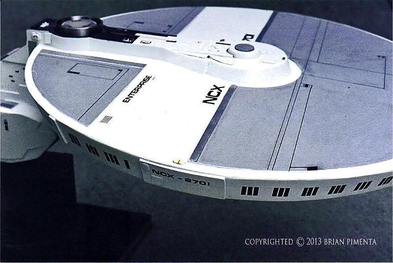 Brian pimenta s ncx 2701 concept starship culttvman 39 s for Wohnung star trek design