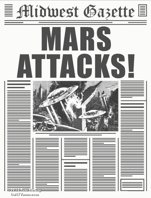 Tom Hering S Mars Attacks Culttvman S Fantastic Modeling