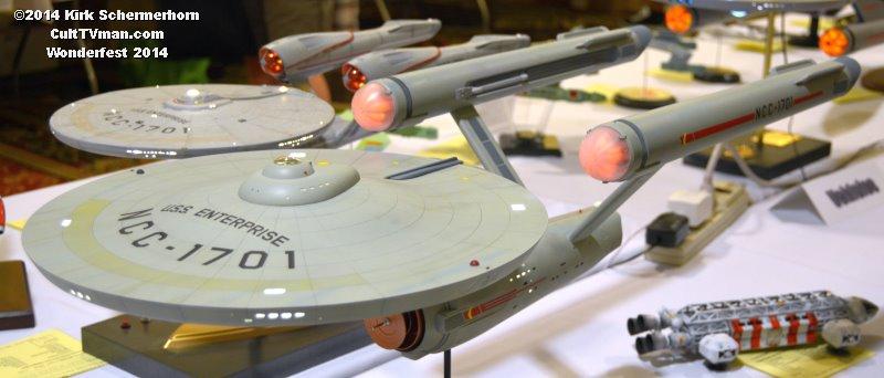 Wonderfest 2014: Star Trek Models – CultTVman's Fantastic