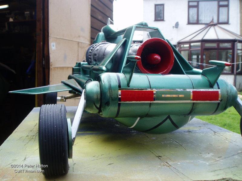 Car Show Orlando >> Peter Hutton's Joe 90 Flying Car – CultTVman's Fantastic ...