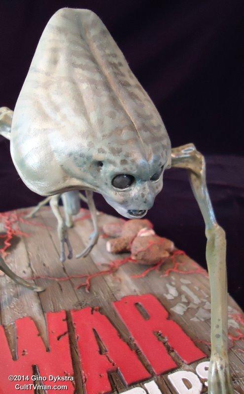 Gino Dykstra S War Of The Worlds Alien Culttvman S