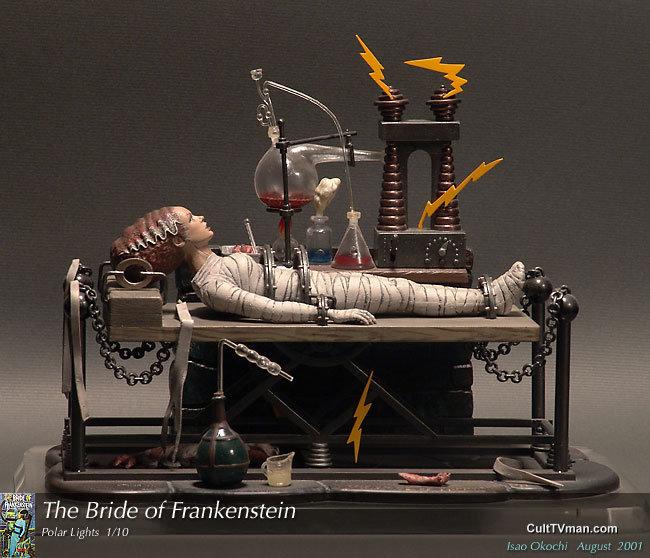 Bride of Frankenstein – CultTVman's Fantastic Modeling