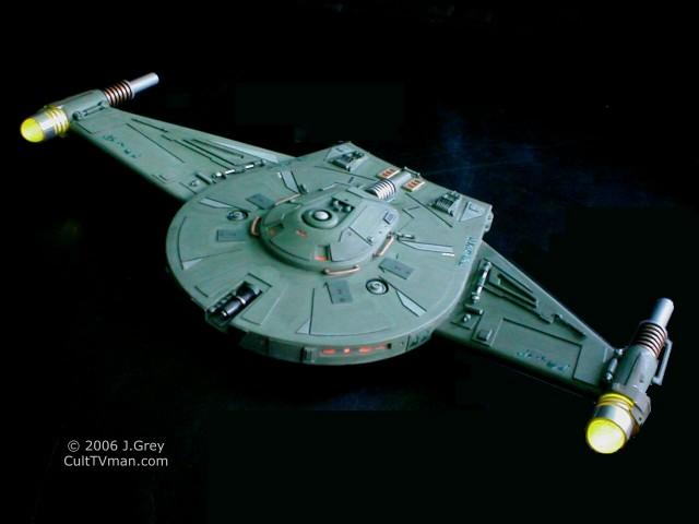 J Greys Romulan Bird Of Prey on Star Trek Starship Parts