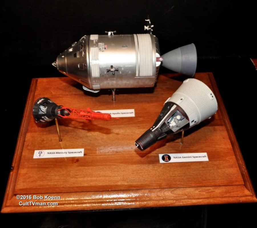Bob Koenn S Mercury Gemini And Apollo Capsules