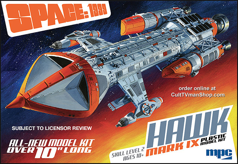 Sneak Peak: Space:1999 Hawk box art and images