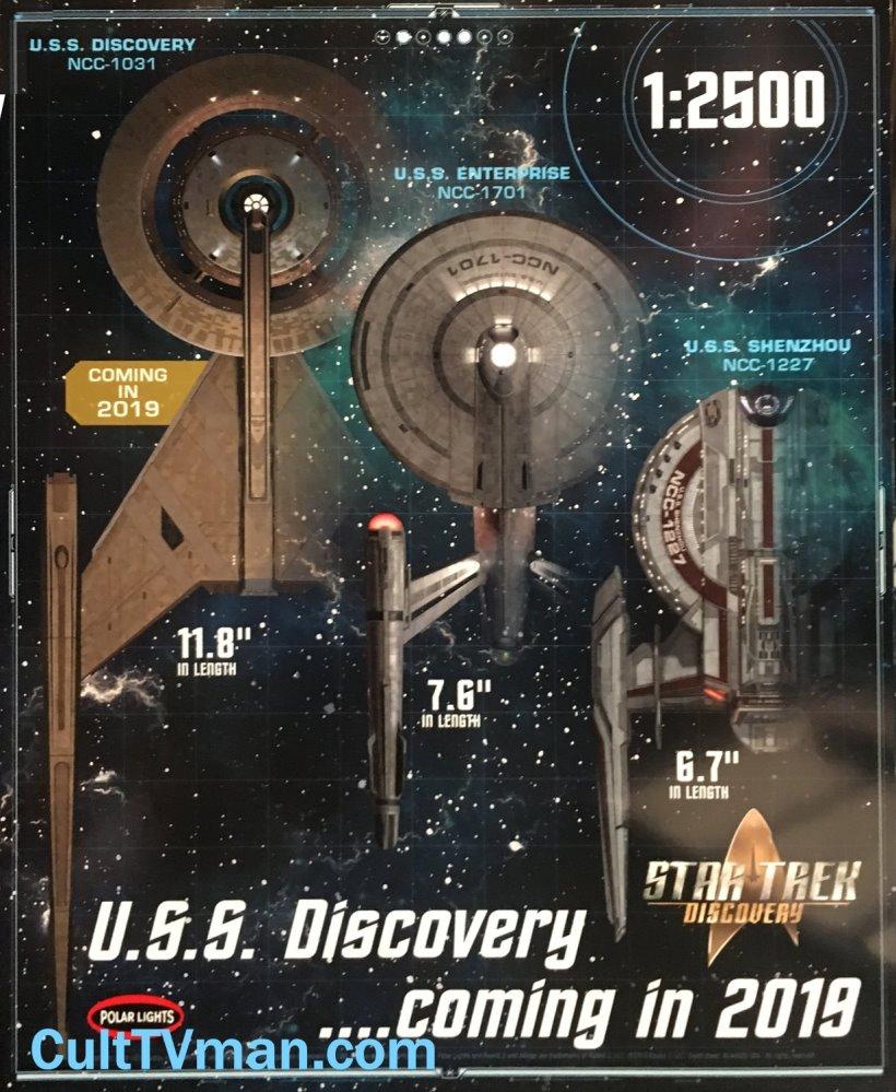Round 2 News: Star Trek Discovery models! – CultTVman's