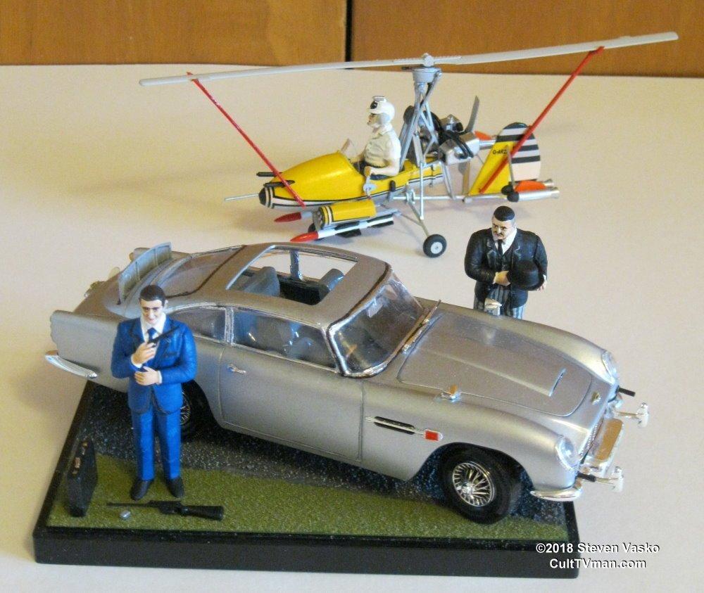 Steven Vasko's Aston Martin DB-5 and Little Nellie